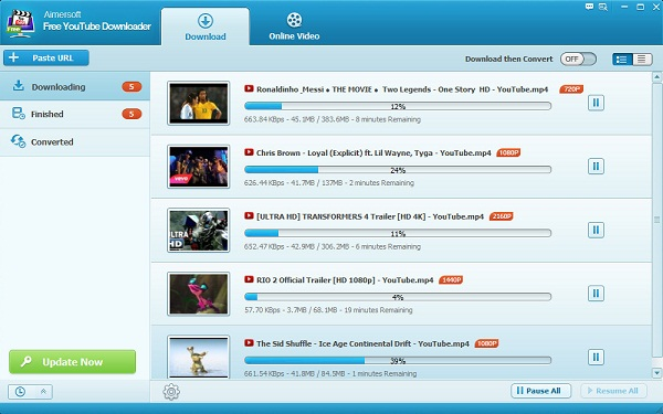 fast free youtube downloader
