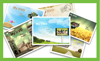 add customized dvd menu