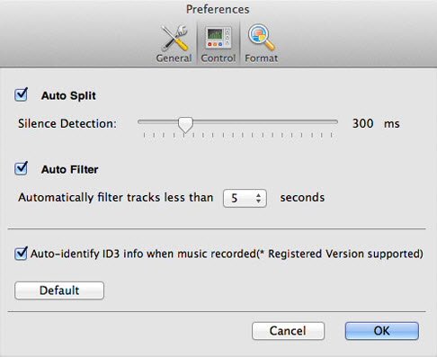 record online music on mac