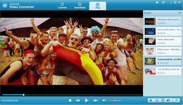play videos in Windows 8