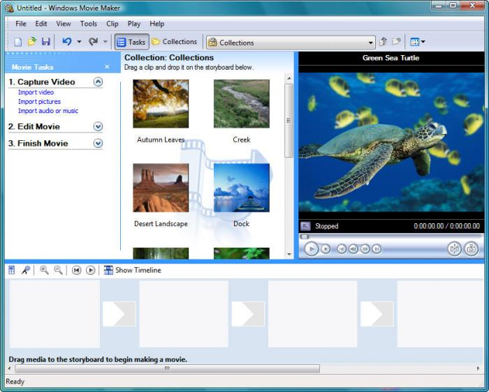 какие форматы поддерживает windows movie maker